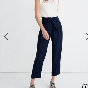 Madewell Drapey Paperbag Pants size 2